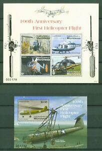Mikronesien 2007 - Hubschrauber Fa 223 - AS 350 - Bell 206 - 1844-47 + Block 172