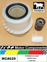 FILTER SERVICE KIT for MITSUBISHI STARWAGON SJ Satelli 4G63B 2L Petrol 11/1997-2