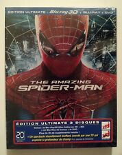 THE AMAZING SPIDERMAN  ** EDITION ULTIMATE BLURAY 3D + BLURAY + DVD  **  MARVEL