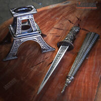 "10"" Eiffel Tower Letter Opener Blade Dagger Executive Knife Statue w/ GIFT BOX"