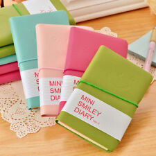 Leather Portable Notebook Pocket Diary Memo Notepad Journal Planner Note Pad Hot