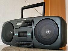 GRUNDIG RR-610CD Stereo CD Radio Kassetten Recorder Ghettoblaster Boombox