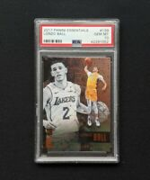 2017 Panini Essentials LONZO BALL Lakers RC #139 - PSA 10 Gem Mint