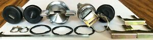 New Black Lock Set All G-body 1983 -1988 Ignition, Glove Box included