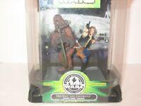 NEW Star Wars Han-Solo & Chewbacca Death Star Escape Hasbro SILVER ANNIVERSARY