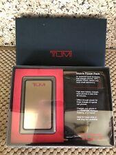 Tumi Mobile Power Pack Universal Gun Metal New - Portable Travel Charger