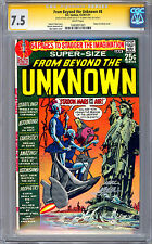 FROM BEYOND THE UNKNOWN #8 CGC-SS 7.5 *SIGNED BY NEAL ADAMS & DENNY O'NEIL* 1970