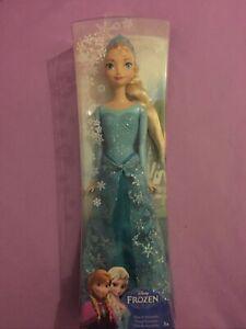 Barbie doll Frozen Disney Elsa Of Arendelle with Glitter Mattel Centimetr 30