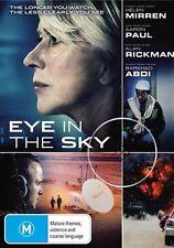 Eye In The Sky (Dvd) Drama Thriller War, Helen Mirren, Aaron Paul, Alan Rickman