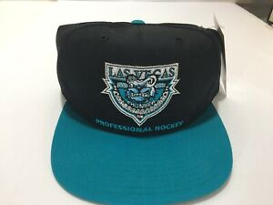 ANNCO Las Vegas Thunder Hockey Snapback Hat 1990's Embroidered Deadstock NWT