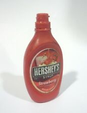 HERSHEY'S Strawberry Syrup Bottle FRIDGE MAGNET Novelty Indonesia 3D Large 2.5""