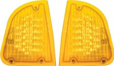 Kenworth K300 T300 T33 T600 LED Turn Signal Lights Sold as a Pair Amber P54-1038