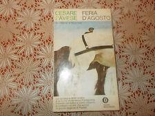 FERIA D'AGOSTO Prima edizione 1971 Torino studentesca Narrativa Cesare Pavese
