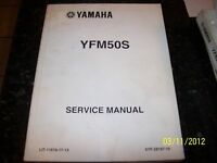 OEM FACTORY Yamaha YFM50S Service Shop Repair Manual