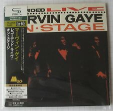 Marvin Gaye-Recorded Live on Stage Japon SHM MINI LP CD Nouveau! UICY - 94024