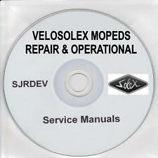 Velosolex Velo Solex Moped Repair Restoration Manual & Owners Handbook CD PDF