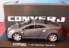 CADILLAC CONVER J DARK GREY LUXURY DIE CAST 1/43 USA CAR 1:43 VEHICULE MINIATURE
