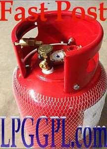 lpg gas refillable 6kg bottle, kit fill kit fill up motorhome camping autogas