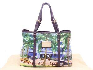 Louis Vuitton Ailleurs Cabas Promenade PM Shoulder Bag Green/Multicolor - e46548