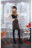 NWT AUTH  Alice Olivia Niki Navy Dress $495