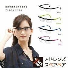 New Adlens Emergensee Adjustable Eyeglasses Emergency Varifocal Lens Glasses F/S