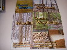 KENTUCKY WOODLANDS Magazine LOT OF 4, 2013-2015, FORESTRY 101, EMERALD ASH BORER