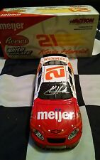 2004 Kevin Harvick Autographed Reeses White Chocolate Meijer Timken 1/24