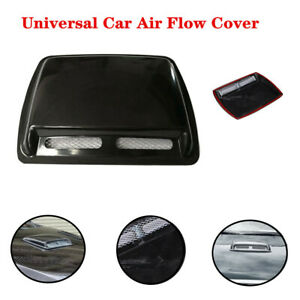 Large Universal Car Engine Hood Air Flow Inlet Vent SUV Front Grille Cover Trim