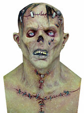 Frankenstein Adult Mask Latex Scary Movie TV Character Ogre Halloween