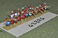15mm classical / greek - hoplites (some spears broken) 19 figures - inf (42326)