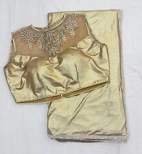 designer lycra saree with stitched blouse indian ethnic saree