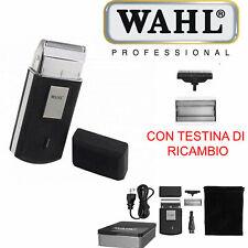 WAHL CORDLES MOBILE SHAVER RASOIO DA BARBA RICARICABILE VIAGGIO RASATURA UOMO
