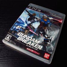 PS3 PlayStation 3 Gundam Breaker JAPAN Import, with Manual Book MINT #0103