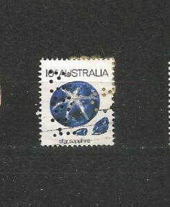 Perfins Australien Perfin Old Stamps Briefmarken Sellos Timbres