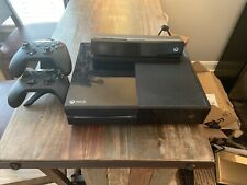 Microsoft Xbox One Kinect Bundle 500GB Black Console 2nd Controller & Charge Doc