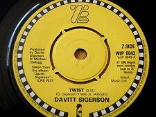 """DAVITT SIGERSON - TWIST  7"""" VINYL"""