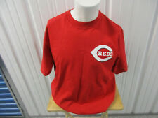 VINTAGE MAJESTIC CINCINNATI REDS KEN GRIFFY JR. #30 LARGE RED SHIRT PRE-OWNED