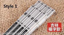 304 Stainless Steel Iron Antiskid Chinese Style Chopsticks 5 Pairs
