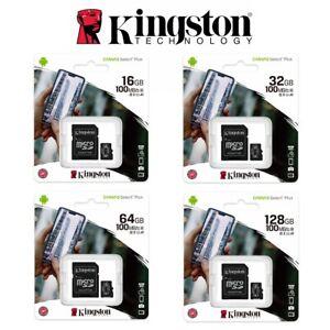 SD Card SDHC SDXC Micro 32GB 64GB 128G 256G 16G Kingston Class 10 Camera Memory