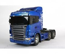 Tamiya 300056327 - 1:14 RC scania r620 6x4 highl. azul pintura. - nuevo