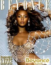 BEYONCE 2003 DANGEROUSLY IN LOVE TOUR CONCERT PROGRAM BOOK / EX 2 NMT