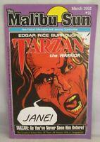 The Malibu Sun # 11 - Tarzan the Warrior March 1992. very good.