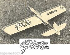 "Model Airplane Plans (UC): PINTO 1/2A 34""ws Stunt + magazine article"