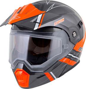 SCORPION EXO-AT950 Cold Weather Helmet Teton (SZ 2X-Large, Orange)