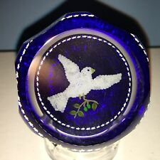 Perthshire Christmas Weight 1991 Turtle Doves w/ Coa