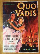 Quo Vadis (Kinoplakat '61) - Robert Taylor / Deborah Kerr