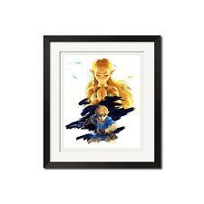 The Legend of Zelda Breath of the Wild Poster Print 0786