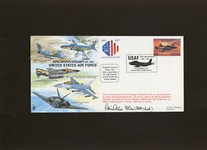 1997 50th Anniversary United States Air Force signed cover