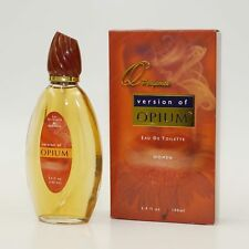 Q Perfumes version of OPIUM by Yves Saint Laurent Women's Perfume 3.4 oz NIB