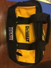 New Dewalt tool Bag with bottom runners 13 x 9w x 10h with 6 pockets